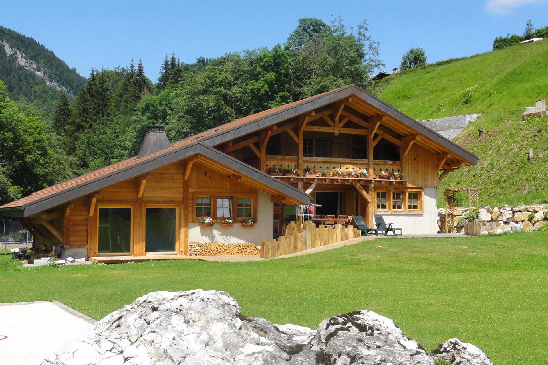 Construction De Chalet Haute Savoie