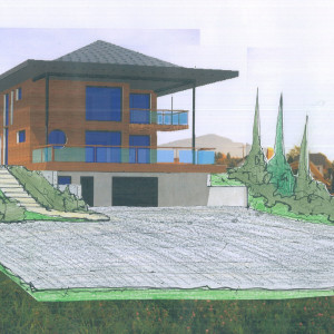Construction d'une maison contemporaine à Annecy